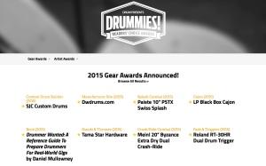 Drummie Award 2015